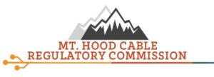 Mt. Hood Cable Regulatory Commission Logo with a mountain